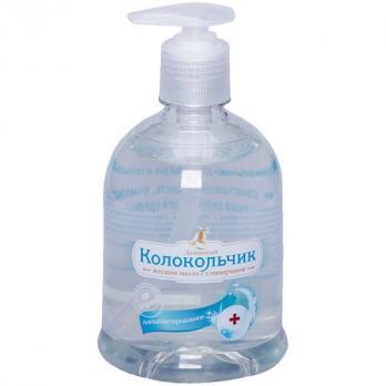 Колокольчик Жидкое мыло с глицерином Антибактериальное 500мл